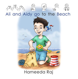 ali and aidy go to the beach